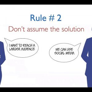 Webinar : Are you Solving the Right Problem?  Seven Rules for Getting it Right with James Robertson