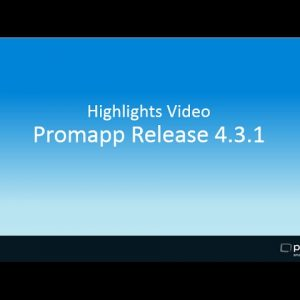 Highlights of Promapp Release 4.3.1