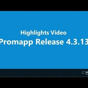 Highlights of Promapp Release 4.3.13