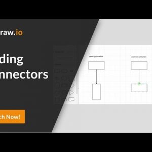 How to add connectors and connect shapes to your draw.io diagrams