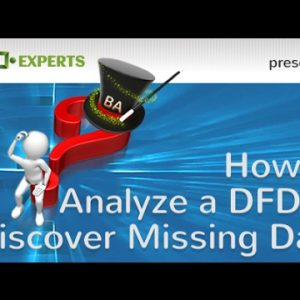 How to Analyze a DFD to Expose Missing Data Elements
