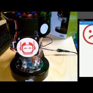 How to Create an Internet-connected AI-powered Candy Dispenser