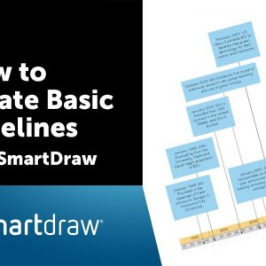 How to Create Basic Timelines with SmartDraw