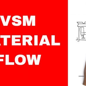 How to Do Value Stream Mapping - Lesson 4 - The Material Flow