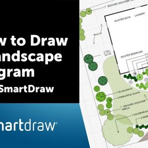 How to Draw a Landscape Diagram with SmartDraw