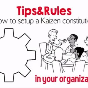 How to Kaizen - 10 points to build the organization.