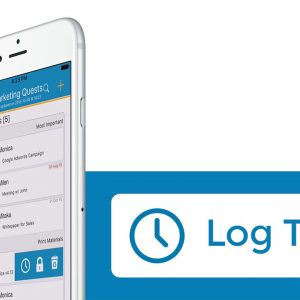HOW TO: Log Time on Mobile