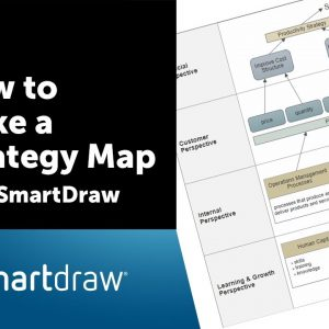 How to Make a Strategy Map with SmartDraw