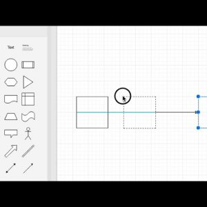 How to split connectors by inserting a shape in your draw.io diagrams