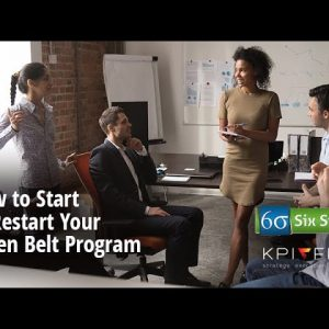 How to Start or Restart Your Green Belt Program
