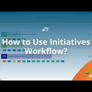 HOW TO: Use Initiatives Workflow