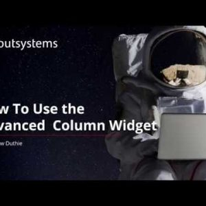 How To Use the Advanced Column Widget