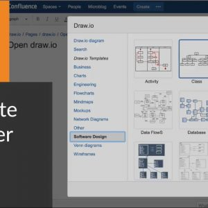 How to use the draw.io template manager to quickly start diagramming