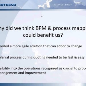 How West Bend used Process Mapping