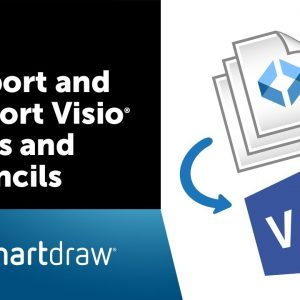 Import and Export Visio Files and Stencils with SmartDraw