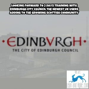 Looking forward to 2 days training with Edinburgh City Council the newest UK users adding to the gr…