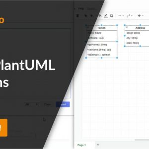 Insert PlantUML diagrams in draw.io