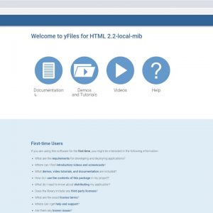 Introduction to the yFiles for HTML 2.2 package (with JetBrains IDEs)