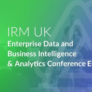 Enterprise Data & BI and Analytics Conference Europe 18-22 November 2019, London