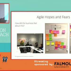 Establishing Business Agility at the Bank - Dee Wauchope and Julian Holmes, Agile on the Beach 2019