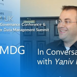 In Conversation With Yaniv Naor of HUGO BOSS | MDM Summit & Data Governance Conference Europe 2019