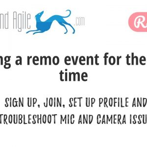 Joining a Remo online event for the first time - virtual events