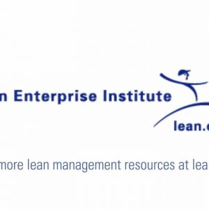 Key Concepts of Lean Workshop and Online Webcast