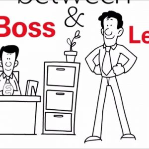 Lean Management - Boss vs Leader