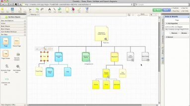 Linking Diagrams in Creately