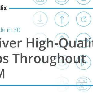 Low-Code in 30 Webinar: Deliver High-Quality Apps Throughout ALM