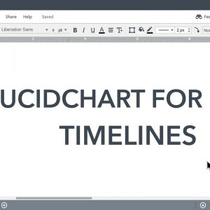 Lucidchart EDU Tutorials - Timelines for EDU