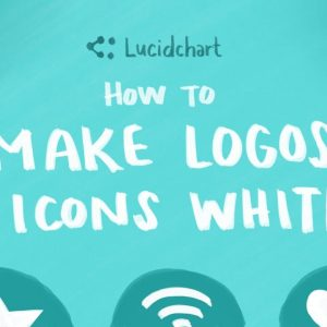 Lucidchart Tutorial: How to Make Logos and Icons White