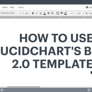 Lucidchart Tutorial - How to use BPMN 2.0 templates