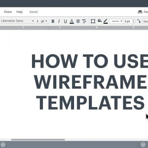 Lucidchart Tutorial - How to use wireframe templates