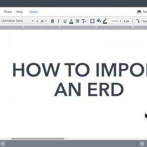 Lucidchart Tutorials - Import for ERD