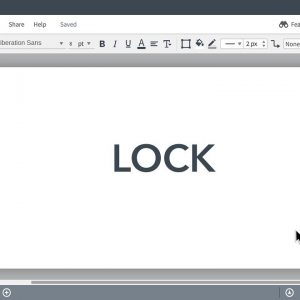 Lucidchart Tutorials - Lock/unlock your shapes for easy editing