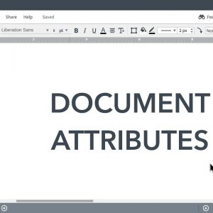 Lucidchart Tutorials - Managing Document Attributes