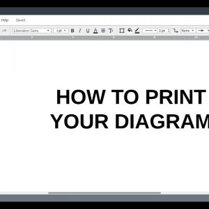 Lucidchart Tutorials: Print Your Diagram
