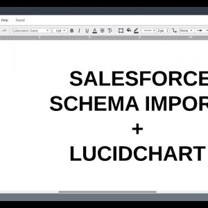 Lucidchart Tutorials: Salesforce Schema Import