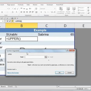 Microsoft Excel 2010 - Top Text Functions - Manipulating Text Data