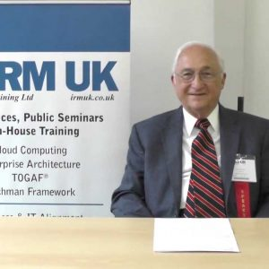 John Zachman on the Zachman EA Modelling and Certification Seminar, London