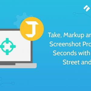 Take, Markup and Upload Screenshot Processes in Seconds with Process Street and Jing