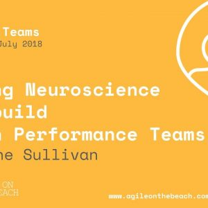 Using Neuroscience To Build High Performance Teams - Elaine Sullivan - Agile on the Beach 2018