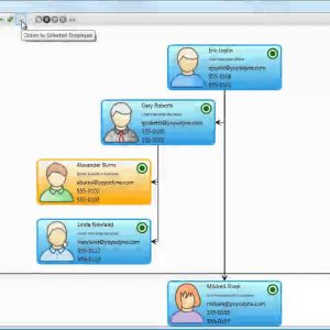 Organization Chart Demo [yFiles WPF]