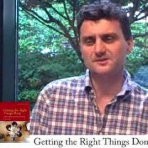 Pascal Dennis, author of Getting the Right Things Done