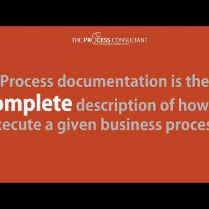 Preparing for process documentation
