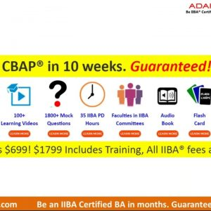 Preparing for the CBAP certification