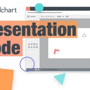 Presentation Mode in Lucidchart