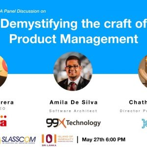 Product Tank Colombo: Demystifying the craft of Product Management