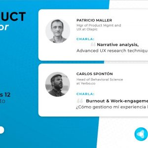 "Product Tank Córdoba: ""Narrative analysis"" & ""Burnout & Work-engagement"""